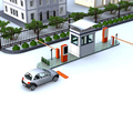 Parking lot management RFID card easy pay auto barrier parking system