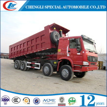 8x4 sand dump truck coal tipper truck manual 40t dump truck for sale