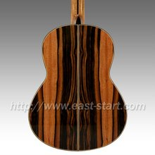 ESC-310 Solid Spanish Oblique Insert Java Ebony Classical Guitar