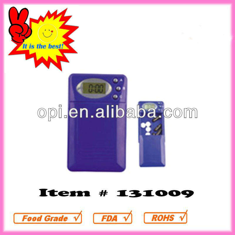 Fashion 2 Compartment Electronic Pill Dispenser