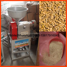 Mini rice huller for home use