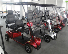 4 wheel handicapped mobility scooter with 2 seaters FR10