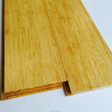 Solid cheap clicked lock strand woven bamboo flooring