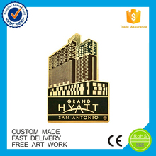 Building completion ceremony festival celebrate lapel pin