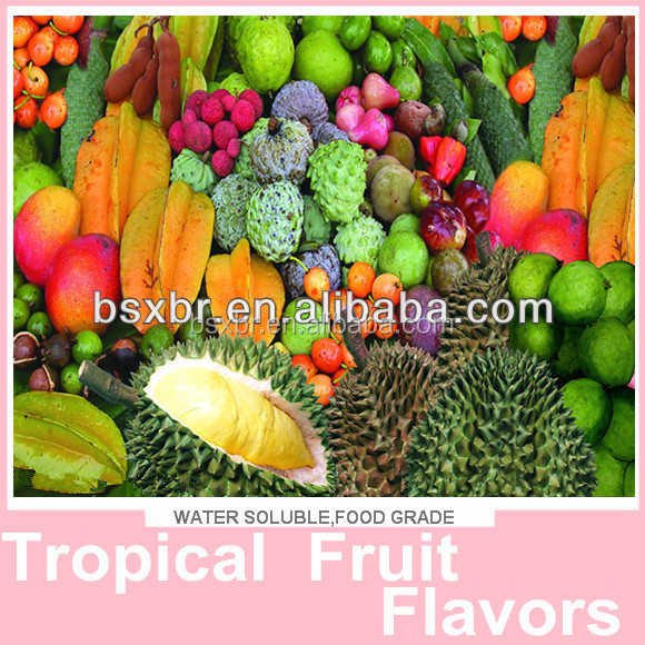 2015 Hot Selling Tropical Fruit Concentrate Flavors 100% Natural
