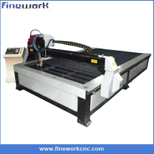 Heavy duty FINEWORK CNC rolled steel beam cutting machine
