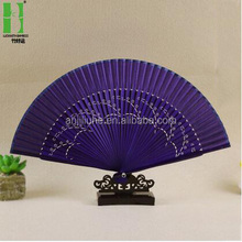 Fancy gifts custom printed korean folding hand fan
