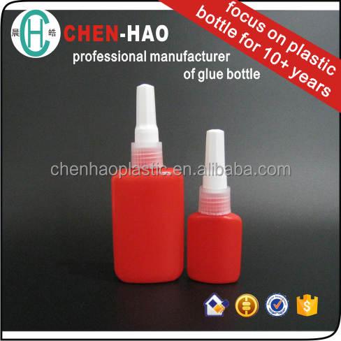 Anaerobic UV Glue Bottle Plastic Bottle Empty Wholesale adhesive fixing glue