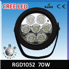 Bright Off Road Led Work Light 70W RGD1052 Light Truck Mud Tires