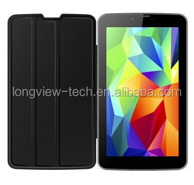 China cheap Private tooling Andriod MTK6572 dual core 7 inch 3g tablet pc W/I leather cover,wifi,FM,GPS, BT,0.3M/2.0 camera