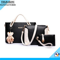 High quality popular fashion trend PU leather high fashion women handbag hand bag new trendy cost price best quality
