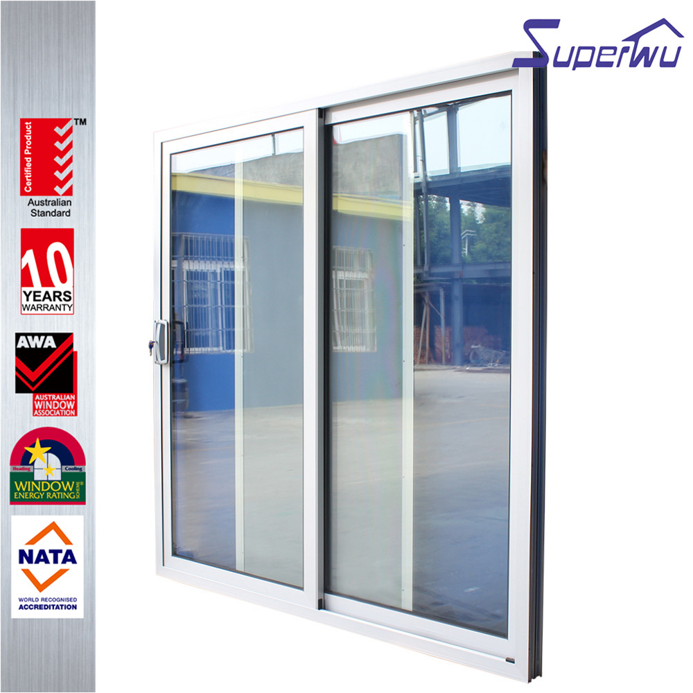 simple kitchen security aluminum lift and sliding door
