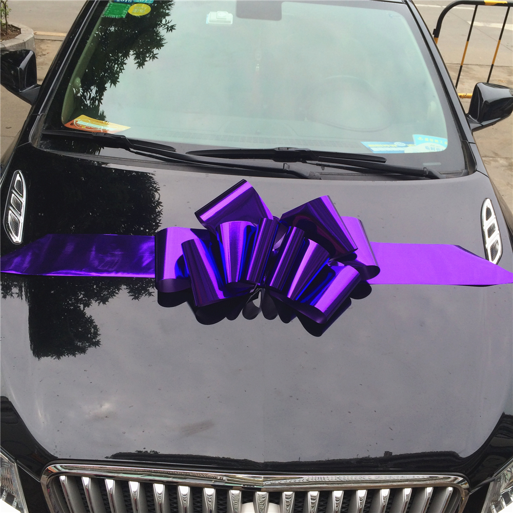 China Wholesale custom made decorative big Bow Car