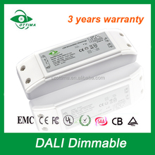 DALI power supply adjustable constant current led driver 250mA 350mA 400mA 500mA 700mA