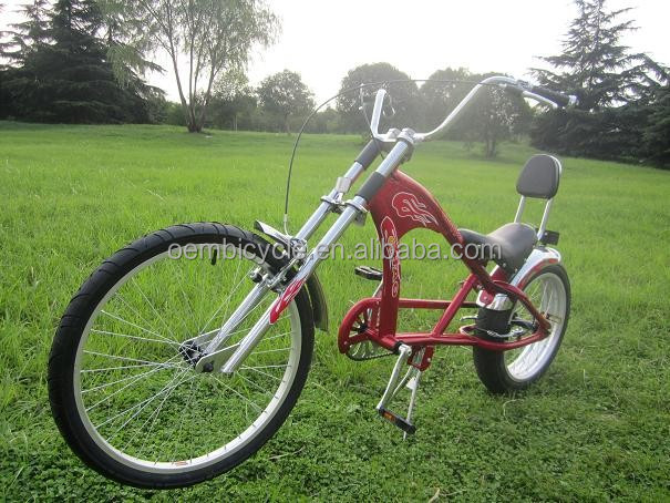 fat bike chopper style bicycle helikopter sepeda
