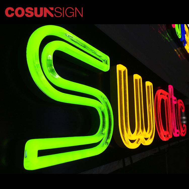Cosun Sign Custom Wall Battery Powered Christmas Light Led Neon Beer Letter Signs