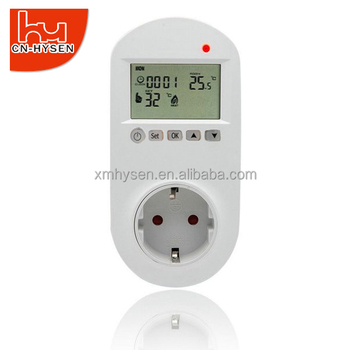 Digital electric heating oil heater plug in thermostat
