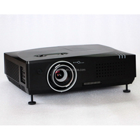 1024*768 Outdoor advertising display short throw projector 6500