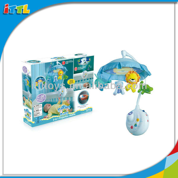 Dual Purpose Baby Musical Mobile With Sound And Light Baby Musical Mobile Box