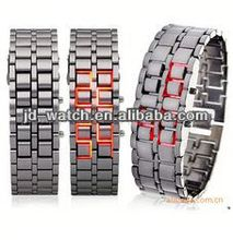 led lava watch iron samurai style for men