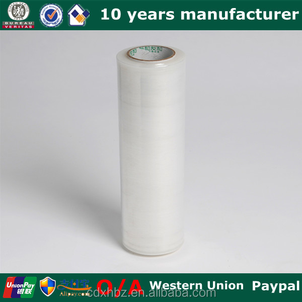Xinhe pe roll/ice wrap/silicone wrap stretch film