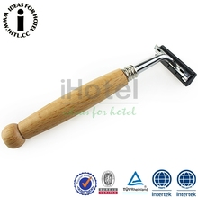 New Arrival Wholesale Razor With Wooden Handle