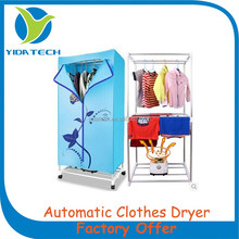 PTC heating hot air Electric Automatic Cloth Dryer with factory low price
