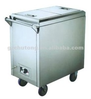 Stainless Steel Electric Towel Cart/dinner cart