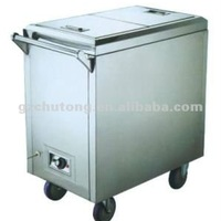 Stainless Steel Electric Towel Cart Dinner