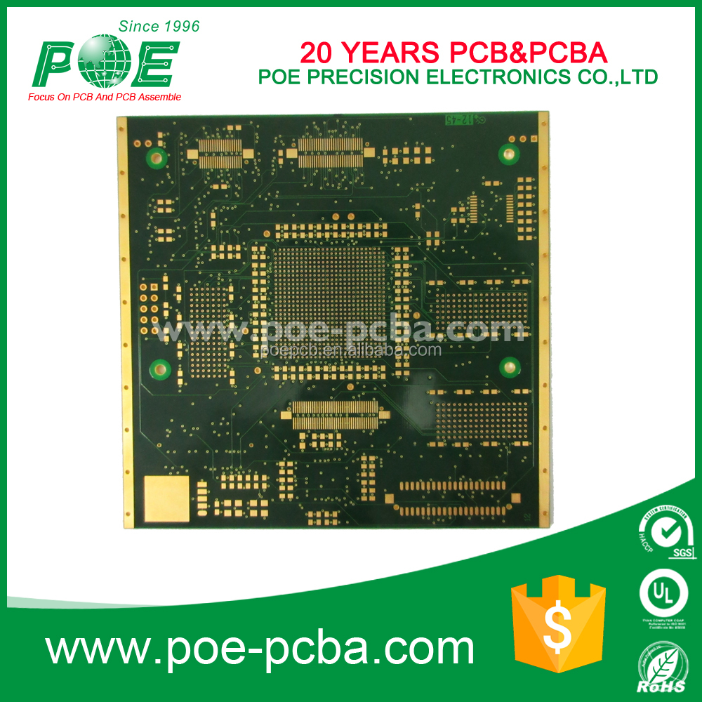 multilayer printed circuit board 12 layer pcb &pcba supply in china