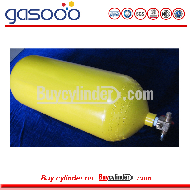 ISO9809 NZS5454 NGV2 ECE R110 Standards Gas Pressure CNG Steel Cylinder Type 1 Made in China