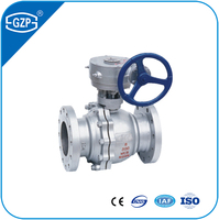Hot Selling Class 150 300 600 Pressure Handle Gear Operation Floating Ball Valve With Cheap Price