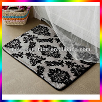 Comfortable beautiful custom size bath rugs
