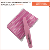 Custom banana shape printed nail file buffer for Salon