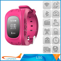 Brand new gps kids security watch made in China