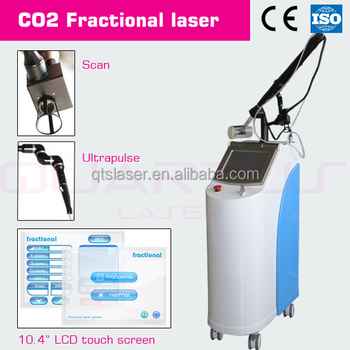 Beauty equipment Chinese manufacturer RF CO2 fractional laser for scar wrinkle removal skin peeling