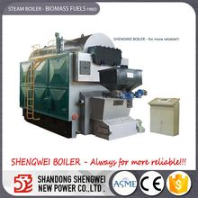 Low Price Rice Husk Fired Steam Boiler Machine