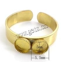 Gets.com brass wholesale stretch ring base
