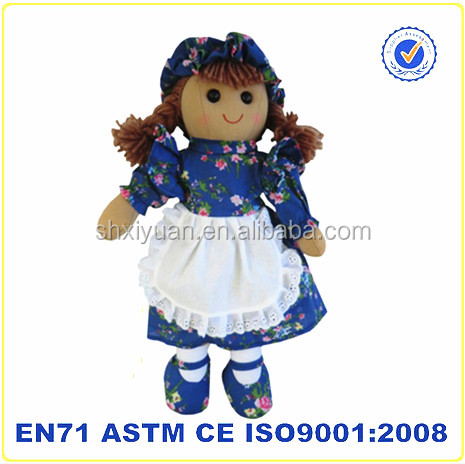 plush china toys import lovely handmade singing rag doll baby doll