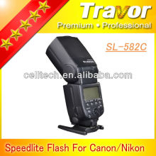 Perfect flash SL-582C speedlight for canon with GN58