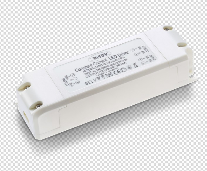 5 years warranty 0/1-10V pwm dimmable led driver 10W CV dc12V 24V ul saa rohs ce led transformer 20W 30W 40W with plastic cover