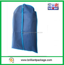 Breathable Garment Suit Bag Clothes Covers (For Travel or Storage) - Navy & Blue