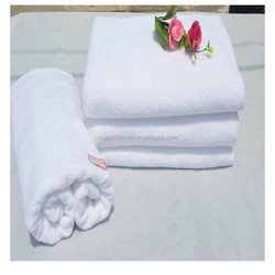 hotel supplies custom logo cotton face towels of used hotel towels in 100% cotton towel fabric rolls