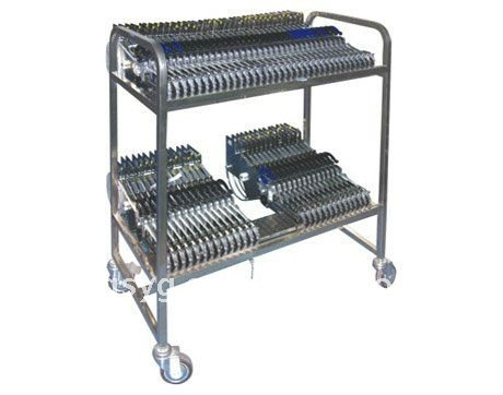 Feeder Storage Cart for Electrolic factory