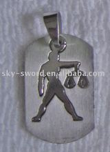 stainless steel pendant/stainless steel jewelry