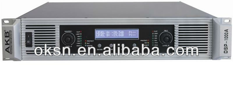 China first DSP ahuja amplifier