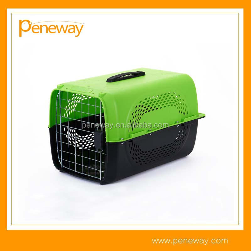 2017 New Design fast delivery plastic airline dog carrier
