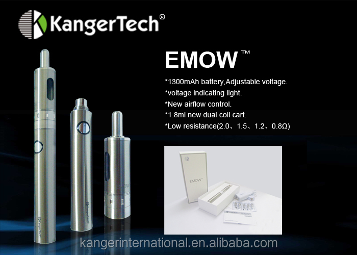 new products looking for distributor kanger revolutional design e cig emow kit