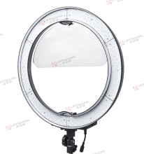 "18"" LA-650D LED Ring Light Professional Studio Photography 576PCS LED Lamps CRI 90 &5500K with Color Filter with the Bag"