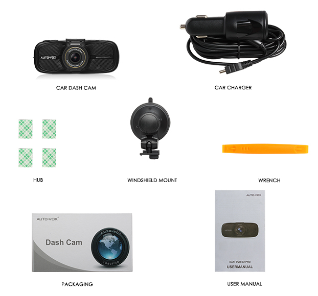 The best Night Vision user manual fhd 1080p car camera dvr video recorder